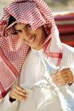 Apronte para o café árabe imagens de stock