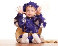 Apronte para ser um príncipe! foto de stock royalty free