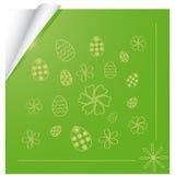 Fundo com o tema de Easter Imagem de Stock Royalty Free