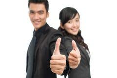 Aprovação do negócio Foto de Stock