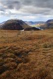 Aprovação da paisagem do grande distrito do lago gable Fotografia de Stock Royalty Free