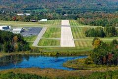 Aproximação de aterrissagem Fotos de Stock Royalty Free