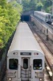 Aproximação do metro Foto de Stock Royalty Free