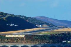 Aproximação a Funchal Fotografia de Stock