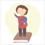 Apruebe el examen Graduado de la escuela libre illustration