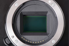 APS-C image sensor Stock Images