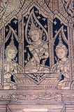 Apsara佛教徒壁画 库存图片