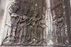 Apsara在柬埔寨 免版税库存照片