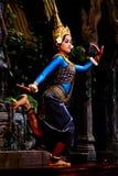 apsara舞蹈演员 免版税库存照片