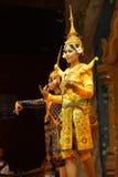 Apsara舞蹈演员 免版税图库摄影