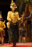 Apsara舞蹈演员 库存图片