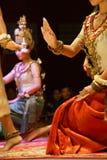Apsara舞蹈演员 免版税库存图片
