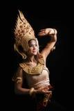 Apsara跳舞画象 库存图片