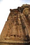 Apsara雕塑, Siem Reap,柬埔寨 图库摄影