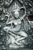 Apsara που χαράζεται στον τοίχο Angkor Wat, Καμπότζη Στοκ φωτογραφία με δικαίωμα ελεύθερης χρήσης