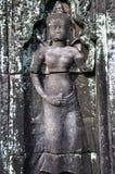 Apsara σε Angkor Wat Στοκ Εικόνες