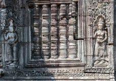 Apsara σε Banteay Kdei, Καμπότζη Στοκ Εικόνα