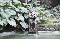 Apsara στον τροπικό κήπο Στοκ φωτογραφία με δικαίωμα ελεύθερης χρήσης