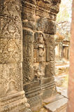 Apsara στο ναό Banteay Kdei στην Καμπότζη Στοκ εικόνες με δικαίωμα ελεύθερης χρήσης