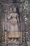 Apsara στο ναό Bayon, Καμπότζη Στοκ Εικόνα