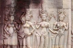 Apsara Royalty Free Stock Photos