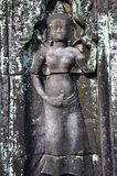 Apsara in Angkor Wat Stock Images