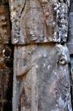 Apsara in Angkor Wat Royalty Free Stock Photography