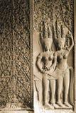 Apsara, Angkor Wat Στοκ Εικόνες