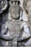 Apsara in Angkor Wat Royalty Free Stock Photos