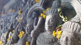 Apsara angle sculpture Royalty Free Stock Image