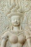 Apsara, Angor Wat stock photography
