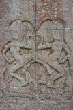 Apsara bas relief Royalty Free Stock Photo