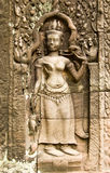Apsara carving, Ta Som Temple, Cambodia Stock Image