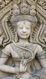 Apsara carvings statue Stock Image