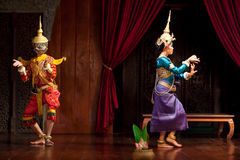 Apsara Dance, Cambodia. Two young cambodian dancers performing in traditional costume on January 11, 2013 in Siem Reap, Cambodia. Apsara Dance is the ancient Stock Images