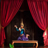 Apsara Dance Royalty Free Stock Images