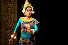Apsara dance Royalty Free Stock Photo