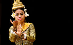 Apsara dance Royalty Free Stock Photos