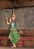 Siem Reap, Cambodia, Apsara dancer in traditional costume Stock Photo