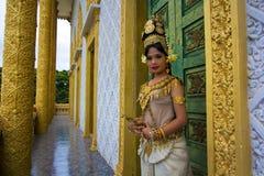 Apsara Dancer Stock Photos