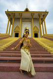 Apsara Dancer Royalty Free Stock Photography