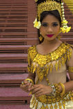Apsara Dancer Royalty Free Stock Image