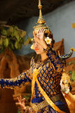 Apsara dancer performs Stock Photo