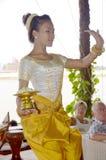 Apsara dancer Royalty Free Stock Photo