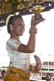 Apsara dancer Royalty Free Stock Photos