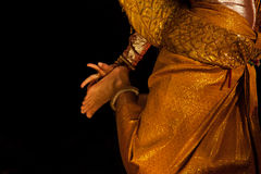 Apsara dancer. During a show Royalty Free Stock Image