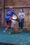 Apsara dancer in Siem Reap Cambodia Royalty Free Stock Images