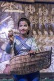 Apsara dancer in Siem Reap Cambodia Royalty Free Stock Image
