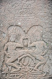 Apsara dancing in Angkor Thom Siem Reap Stock Images