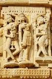 Apsara dans le fort de Cittorgarh, Inde Image libre de droits